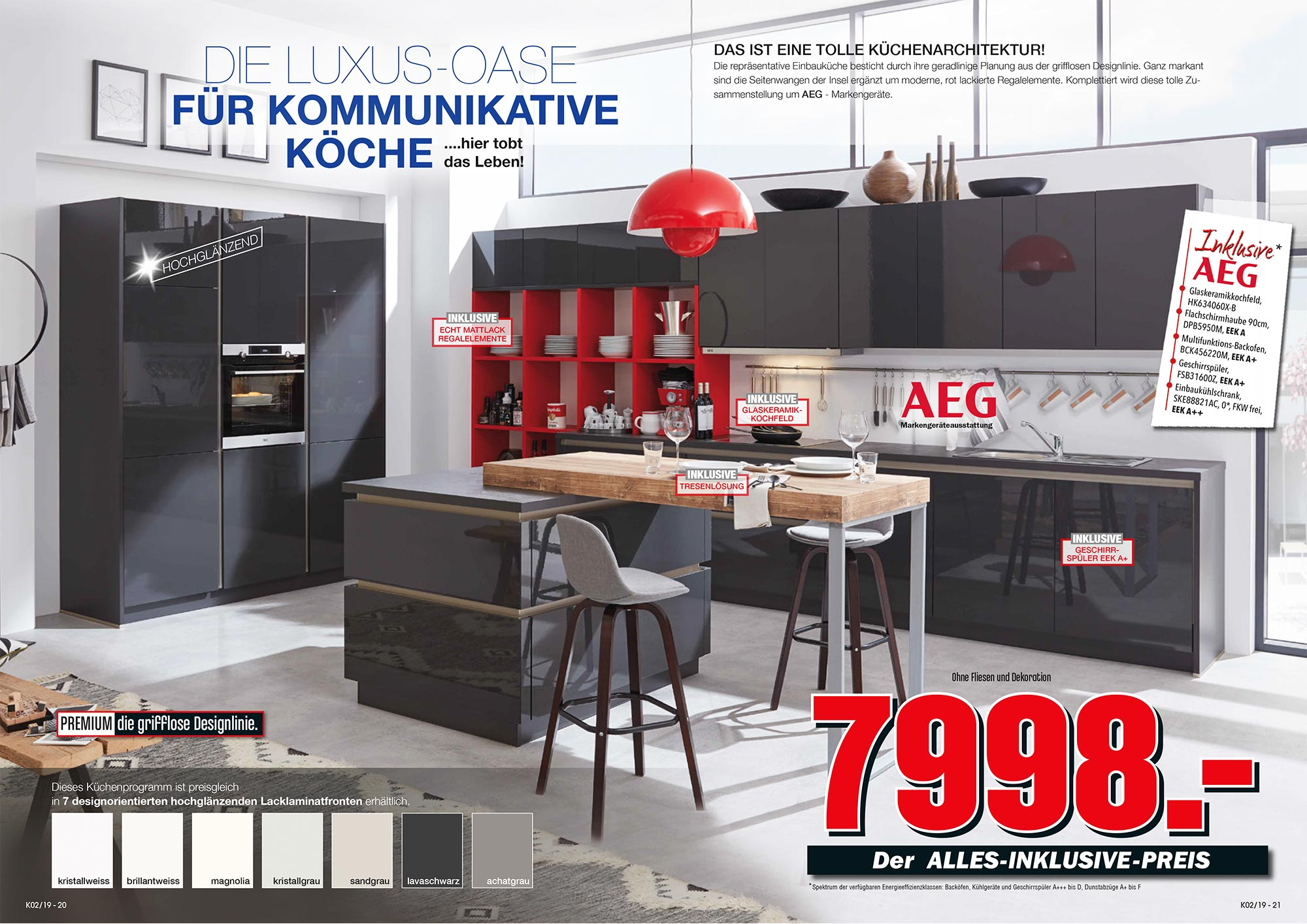 www kchen aktuell musterring kche mr farbe nero grau with www kchen aktuell screenshot for. Black Bedroom Furniture Sets. Home Design Ideas