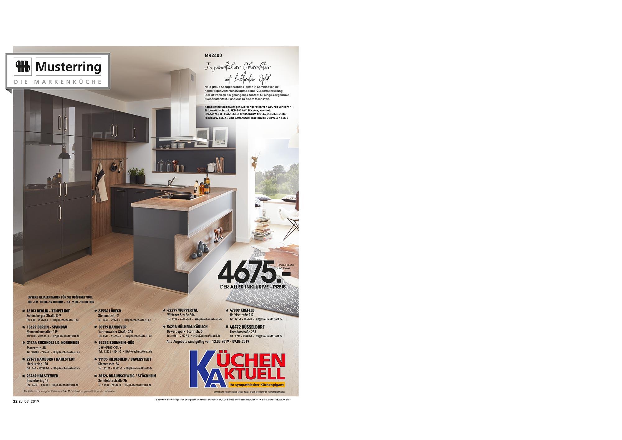 küchenprospekt | hochwert küchen prospekt - Küche Aktuell Lübeck