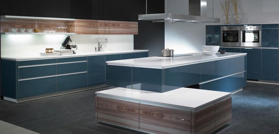 Küchenschrank modern mit glas  Moderne Küchen | KÜCHEN-AKTUELL