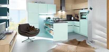 Eine Küche – unzählige Möglichkeiten.